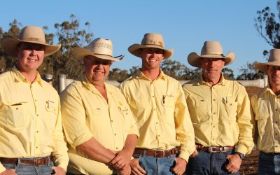 Our new sale team, Ray White Rural
